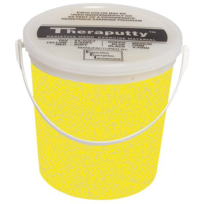 DSS Sparkle Theraputty Exercise Material - 5 lb. (Yellow) by Fabrication by Fabrication
