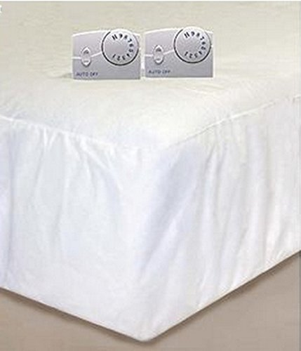 Cannon Heated Mattress Pad - White (Queen)