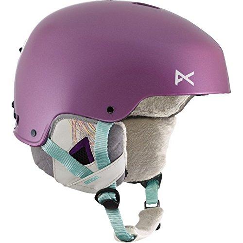 Anon Women's Lynx Helmet 2015 Extra Small PURPLE