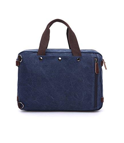 Bag Bag Versatile Man Messenger E School Messenger Laptop Blue Bag Canvas black Bag bestar Bag wxzB4Bfq0