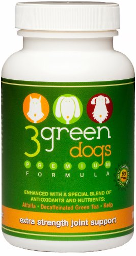 3 Green Dogs Joint Support-Extra Strength – 2 to 8 Month Supply Based on Weight, My Pet Supplies