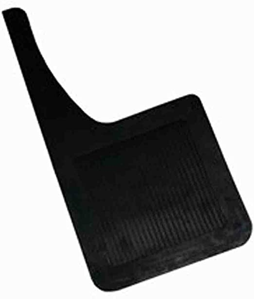 2 Piece Highland 1241200 Black Heavy Duty Rubber Splash Guard