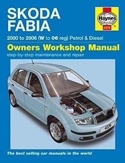 skoda fabia repair manual haynes manual service manual workshop rh amazon co uk