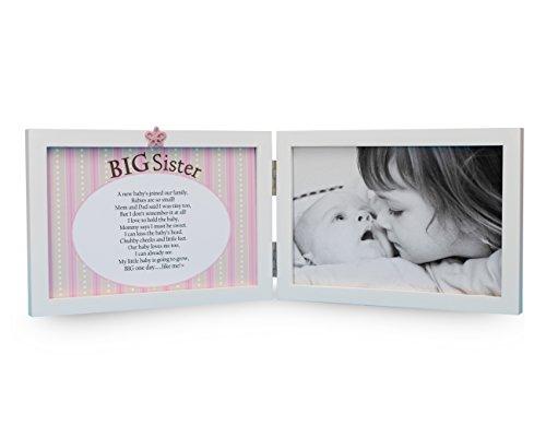Big Sister Photo Frame - The Grandparent Gift Co. Sweet Something Frame for Big Sister
