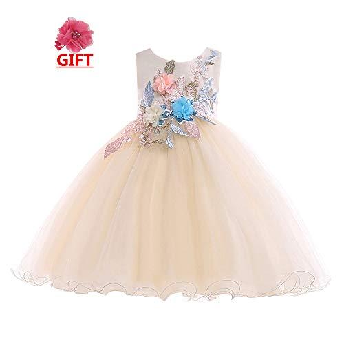 SMALLE◕‿◕ ◕‿◕ Clearance,Flower Baby Girls Princess Tutu Dress Print Sleeveless Formal Clothing Dresses