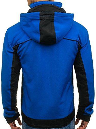 Giacca 5627 4d4 – Da Softshell Bolf Cerniera Con Azzurro Uomo 4n7xanTqw