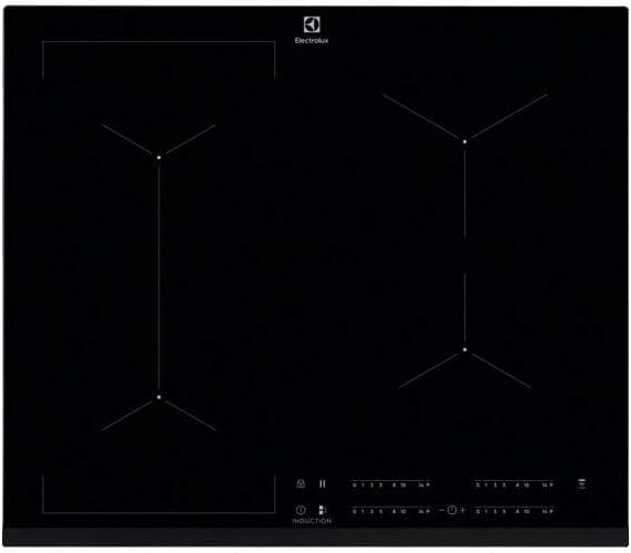 Electrolux EIV63443 Integrado Con - Placa (Integrado, Con placa de inducción, Vidrio, Negro, 1400 W, Alrededor)