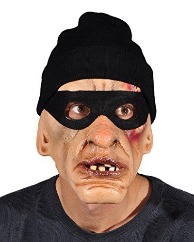 Zagone Studios Thug Mask, Burglar with eye-mask and Knit - Costume Thug