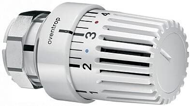 Oventrop t/ête de thermostat pour uniLV avec klemmverbindung vaillant blanc