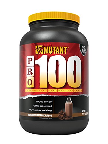 Mutant Pro – 100% Whey Protein Shake With No Hidden Ingredients, Made In Gourmet, Delicious Flavors – Rich Chocolate Milk Flavor