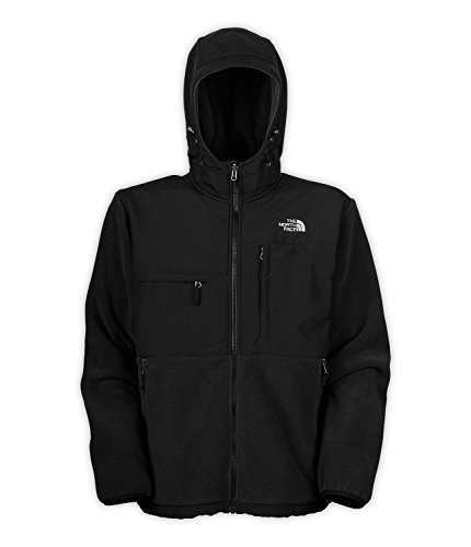 The North Face Denali Hoodie - Men's Recycled TNF Black Large