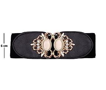 Stylehoops Womens Royal Fashion Buckle Broad Belt
