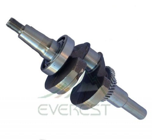 Everest CRANKSHAFT for 13HP Compatible with Honda GX390 QA2 Includes Bearing (Tecumseh Crankshaft)