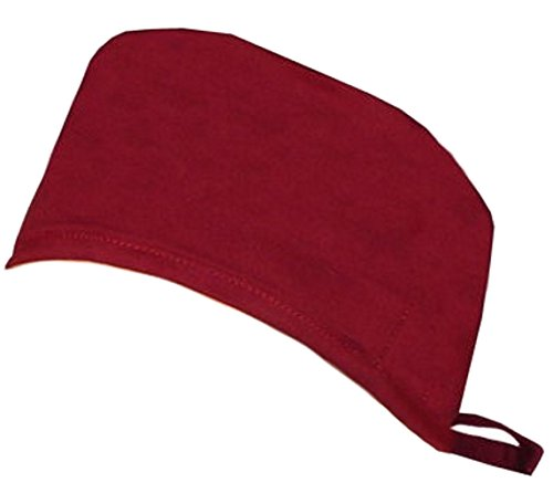 Mens And Womens Medical Scrub Cap - Red Wine