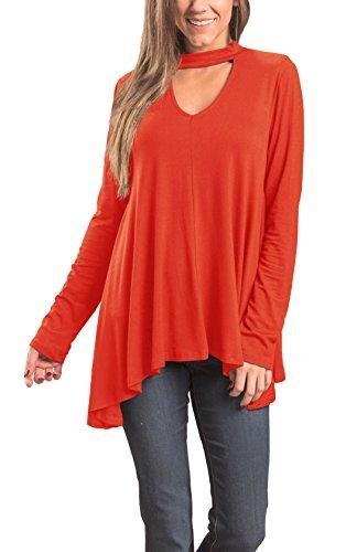 Orange Floral Tunic - 7