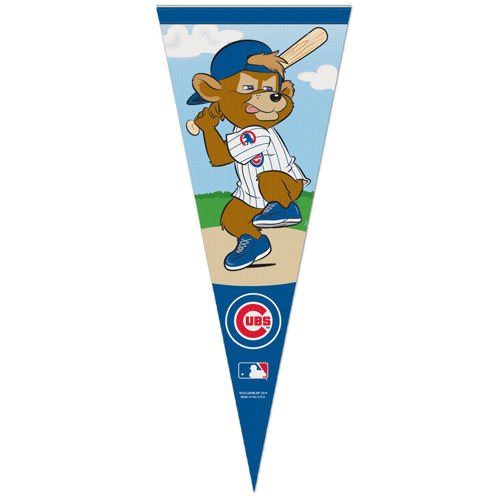 Chicago Cubs Clark the Cub Pennant and 12