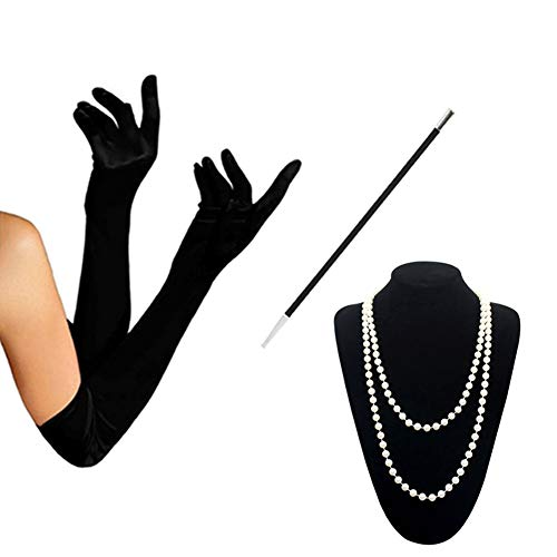 - HAMIST 1920s Accessories Set Flapper Costume for Women
