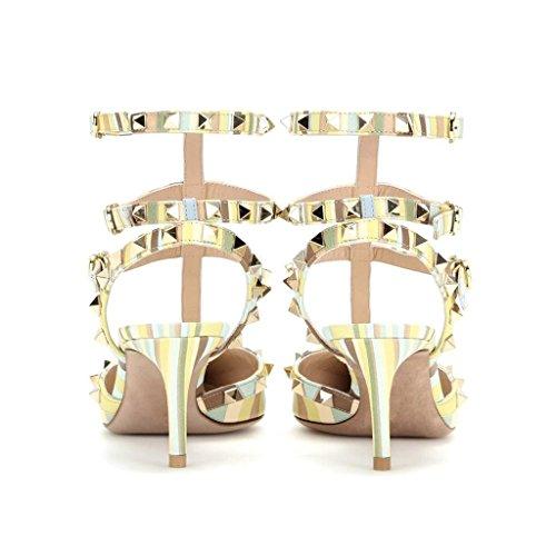 MERUMOTE - Zapatos de vestir para mujer Mixed Colors-1