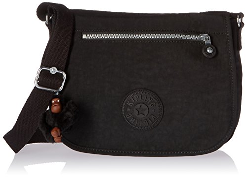 Kipling Attyson Solid Crossbody Bag, Black by Kipling