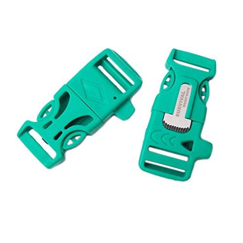 Survival Emergency Whistle Paracord Bracelet product image