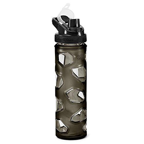 (Eddie Bauer Unisex-Adult Rocktagon 22 oz Bottle, Carbon Regular ONESZE)