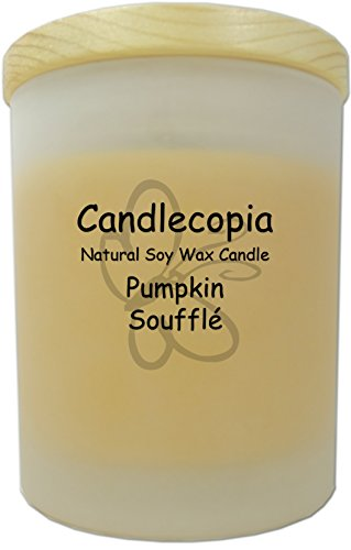 Candlecopia Pumpkin Soufflé Scented Soy Candle - Mouthwater