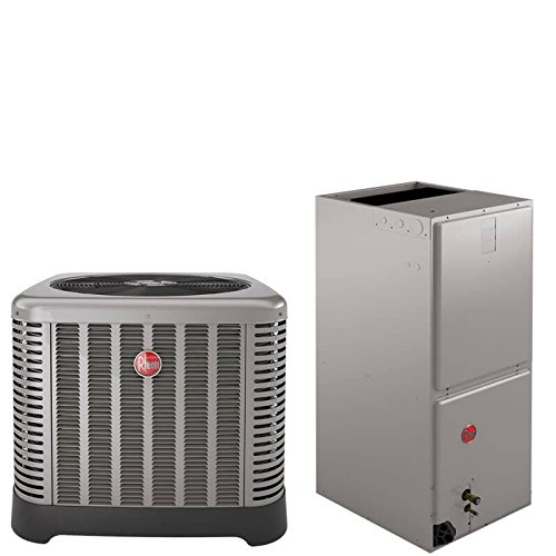 2 Ton Rheem 16 SEER R410A Two-Stage Variable Speed Heat Pump Split System by Rheem
