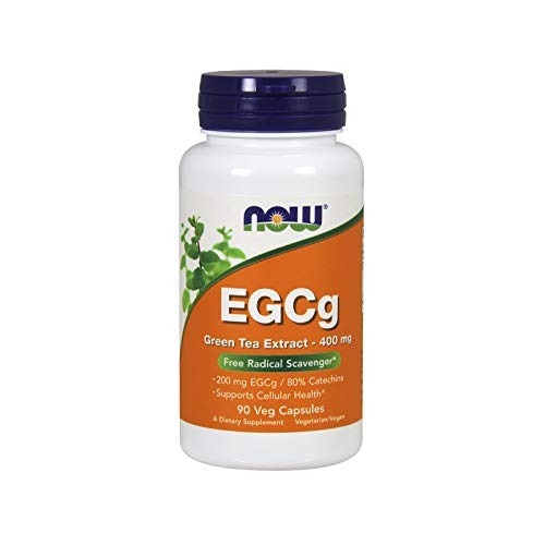 NOW Supplements, EGCg Green Tea Extract 400 mg, 90 Veg Capsules