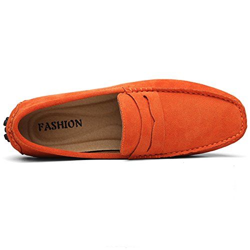 Mocassini uomo Mocassini Hishoes Orange uomo Hishoes zq4q7cP8w