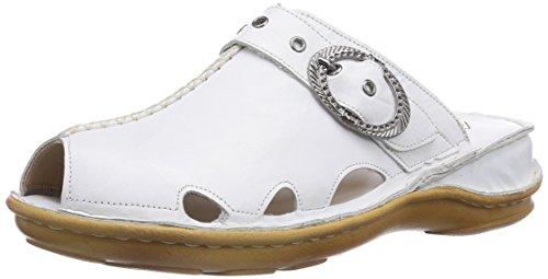 Andrea Conti 0247402001 Damen Clogs Weiß (Weiß 001)