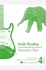 Inside Reading 4 Instructor Pack: The Academic Word List in Context Paperback