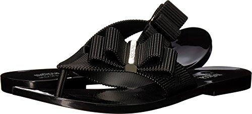 + Melissa Luxury Shoes Women's Jason Wu + Chrome Sandal Black 6 UK (8 US) B (M)