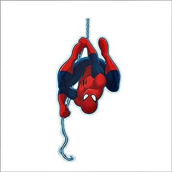 Spiderman pegatinas de pared decoración del hogar de dibujos ...