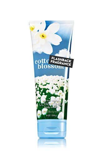 (Bath & Body Works Signature Cotton Blossom Body Cream 8 oz)