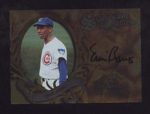 1997 Donruss Signature Series Ernie Banks Auto 1684/2000 - Baseball Slabbed Autographed Cards ()
