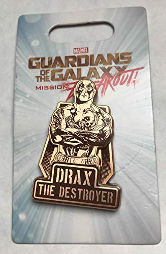 (Disney Pin 123959 DCA - Guardians of The Galaxy - Mission: Breakout - Drax the Destroyer Pin)