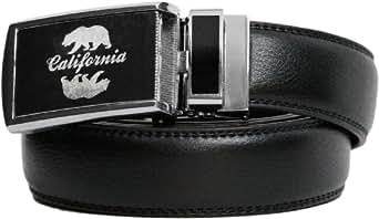"SlideBelts ""Wild Side"" Leather Belt - Custom Fit (Cal Bear)"