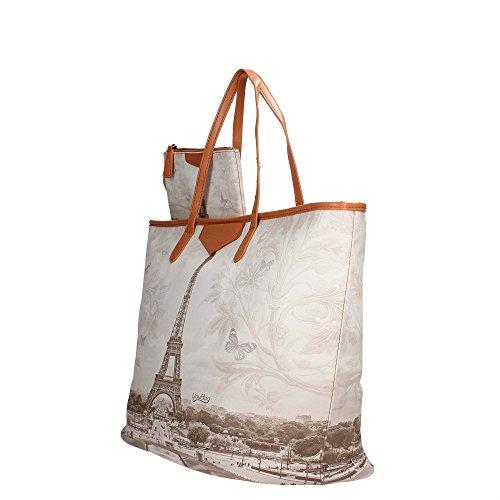 YouBag Bag Schulter Mit Griffen e Kupplung interna Cm 50x33x22