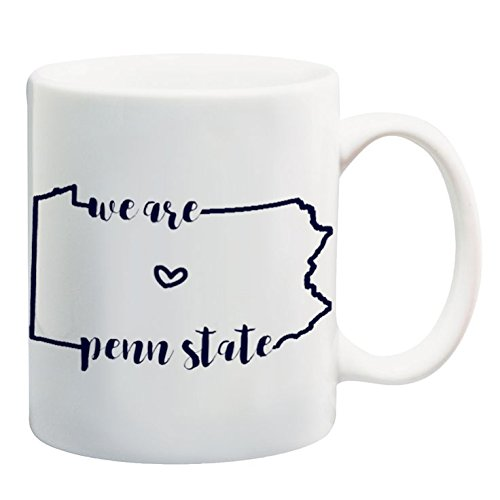Penn Coffee State (We Are Penn State Coffee Mug 11 oz Pennsylvania State University Gifts Collegiate Mugs)