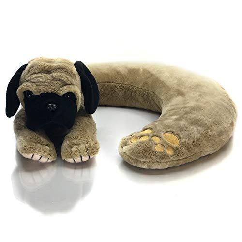 (Sootheze Pepper The Pug - 2 lbs - Machine Washable - Stuffed Animal)