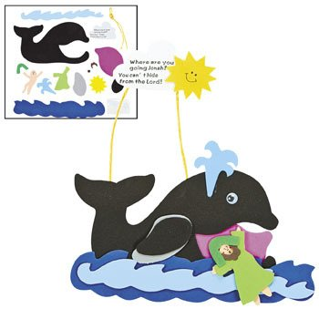 Jonah & The Whale Craft Kit - Religious Crafts & Bible Story Crafts