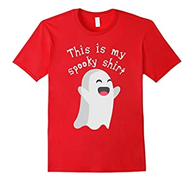 This Is My Spooky Shirt Funny Halloween T-Shirt