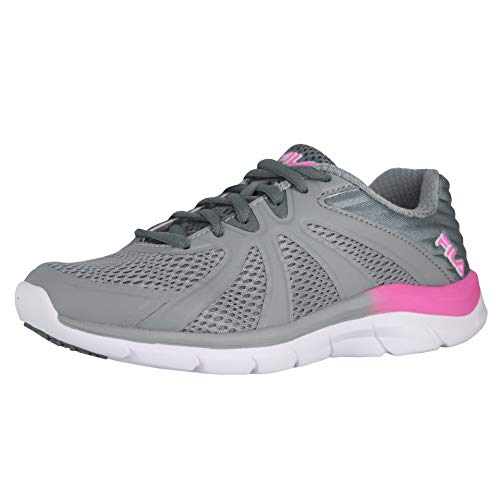 Fila Women's, Memory Fraction 3 Running Sneakers Gray 11 M