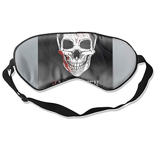 Sleep Mask,Halloween Printable Flyer Mulberry Silk Sleep Mask Eye Mask for Sleeping for $<!--$11.69-->