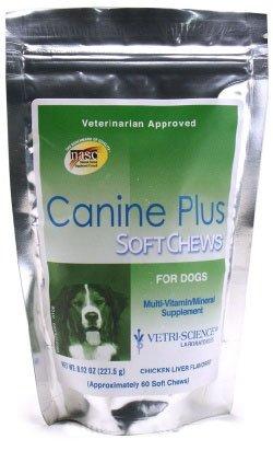 Canine PLUS Soft Chews (60 SOFT CHEWS), My Pet Supplies