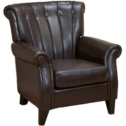 Christopher Knight Home Clifford Club Chair, Brown