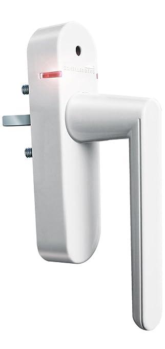 Smart Home Funk schellenberg smart home funk alarmgriff weiß fenstergriff mit