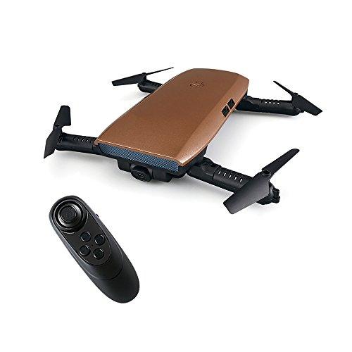 Zlimio Foldable Wifi FPV RC Drone Quadcopter with 720P HD Selfie Camera Gravity Sensor Pocket Drone