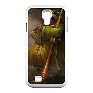 Samsung Galaxy S4 9500 Phone Case Cover White League of Legends Angler Jax EUA16001104 Clear Phone Cases