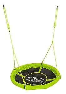 Hudora 72156 - Nestschaukel, Durchmesser 110 cm, grün